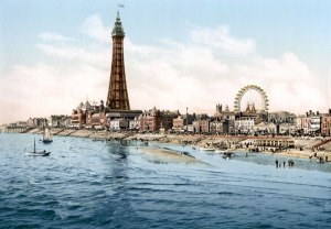 Blackpool - Victorian Post Card