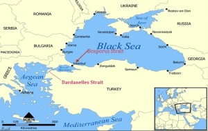 Bosphorus Strait Map