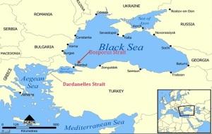 Bosphorus Strait Map