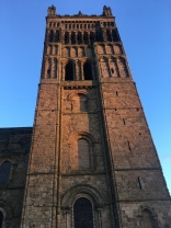 Cathedral Tower at dusk
