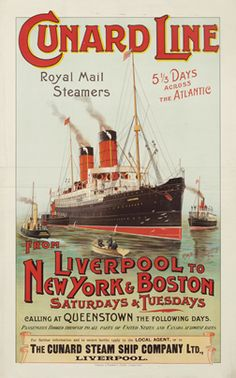 Cunard Steam Ship Poster.jpg