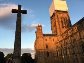 Dunbar Cathedral & cross