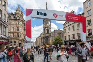 Fringe Festival Street Scene