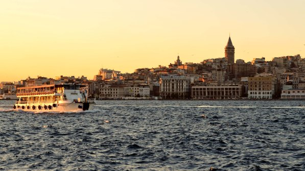 Galata Tower - Sea View