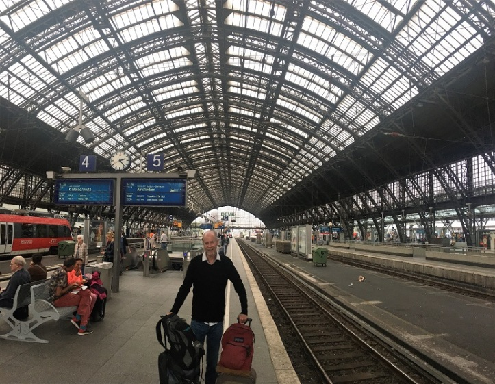 Heading out of Cologne
