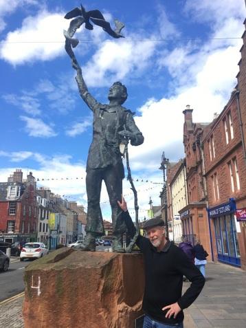 John Muir Boyhood statue