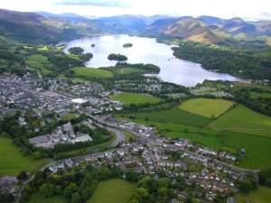 Keswick Aerial View