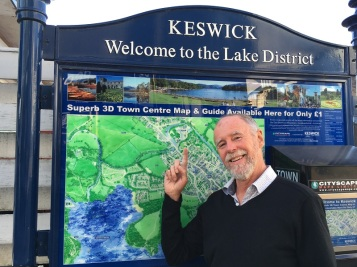 Keswick Welcome Sign