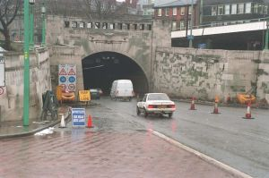 Mersey River Tunnel Entrance
