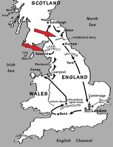 Our UK Route Ancient Sites