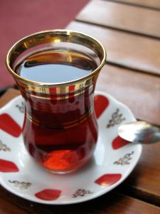 Turkish Tea Serving