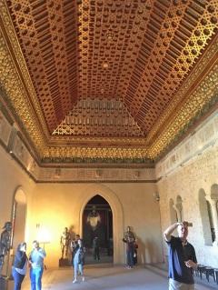 Alcazar Vaulted Ceiling