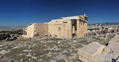 Roman temple on Acropolis