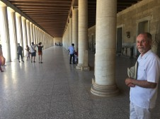 Frank at the Stoa of Attalos