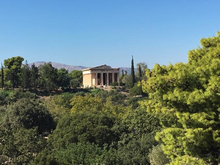 Athens - Agora - Temple of Hephaestus