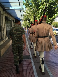 Athens - Presidential Guard on the March