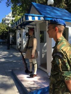 Athens - Presidential Guard & Supervisor