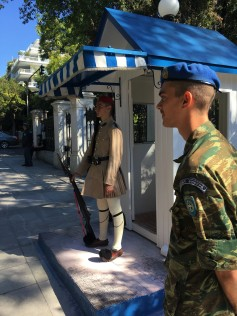 Athens - Presidential Guard & Supervisor