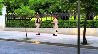 Athens - Presidential Guards Marching