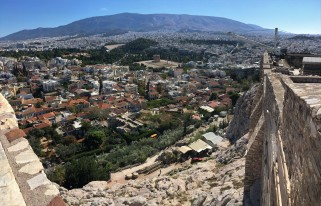 View of our neighborhood from Acropolis