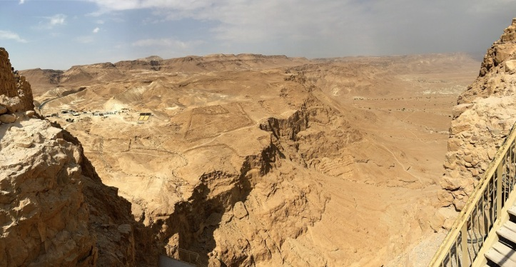 Backside of Masada Fortress