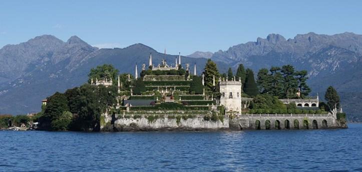 Borromeo Villa on Lago Maggiore Near Stressa