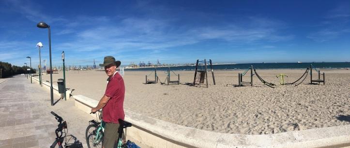 Brian at the beach