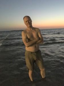 Brian on the Beach - Tel Aviv