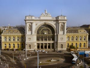 Budapest Central Rail Station