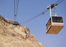 Cable Car to Masada Fortress