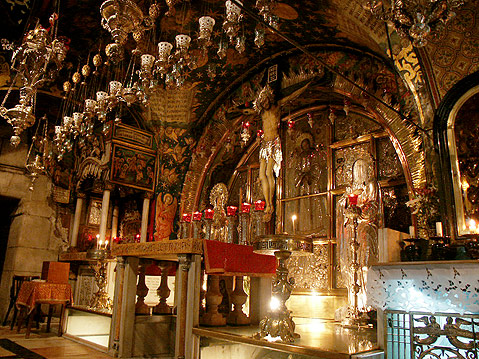 Chapel at place of cruciifixion
