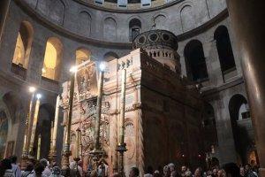 Chapel covering tomb