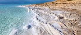 Dead Sea Salt Deposits