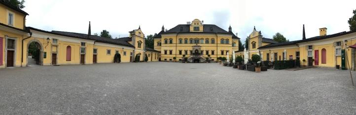 Hellbrunn courtyard