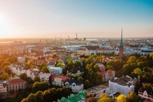 Helsinki Aerial View
