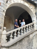 Brian and David at Isola di San Giulio