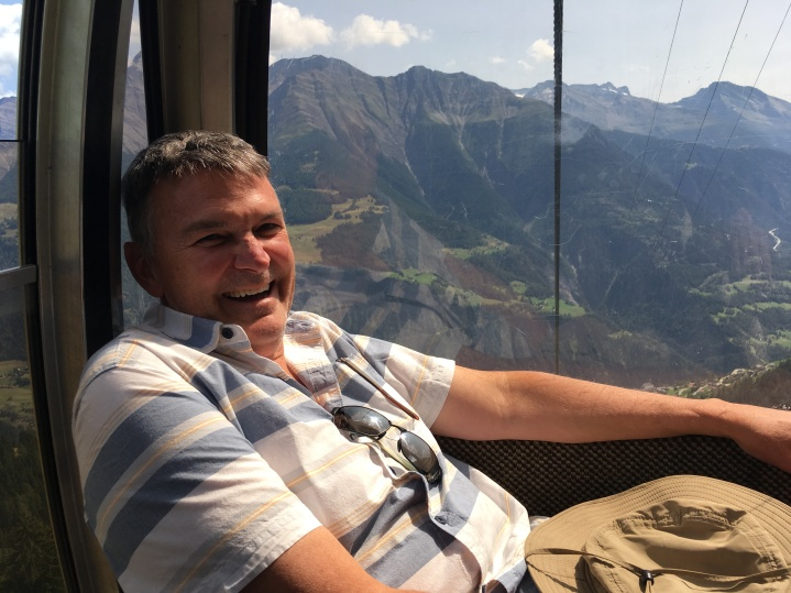 Dave in the gondola