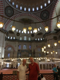 Inside the Sulaymaniye Mosque (1550-1557)