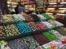 Sweets display - Egyptian Bazaar