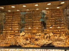 Gold Display - Egyptian Bazaar