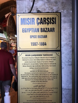 Entry to Egyptian Bazaar
