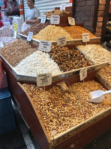 Nuts Display - Egyptian Bazaar