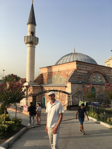 Outside Hagia Sophia