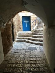 Jaffa passage and convent door