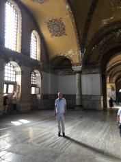 Frank in Hagia Sophia