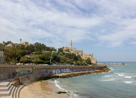 Jaffa as seen from the north