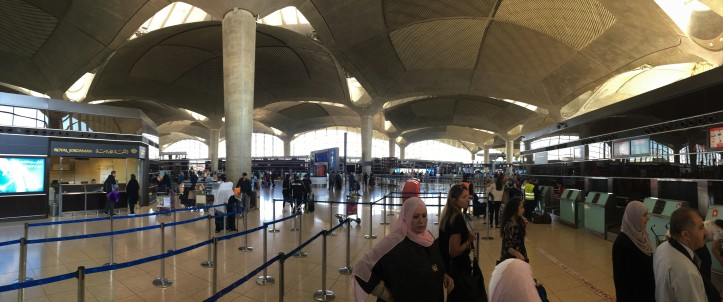 Jordan - Beautiful Amman Airport