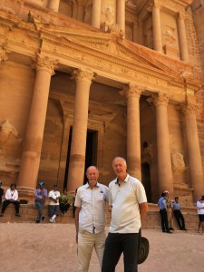 Jordan - Frank & Brian at Treasury in Petra 2