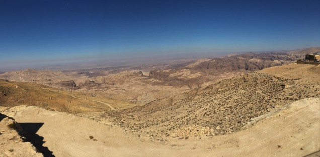 Jordan - Valley of Moses Panorama