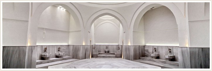 Kilic Ali Pasa Hamami Interior Bath Area